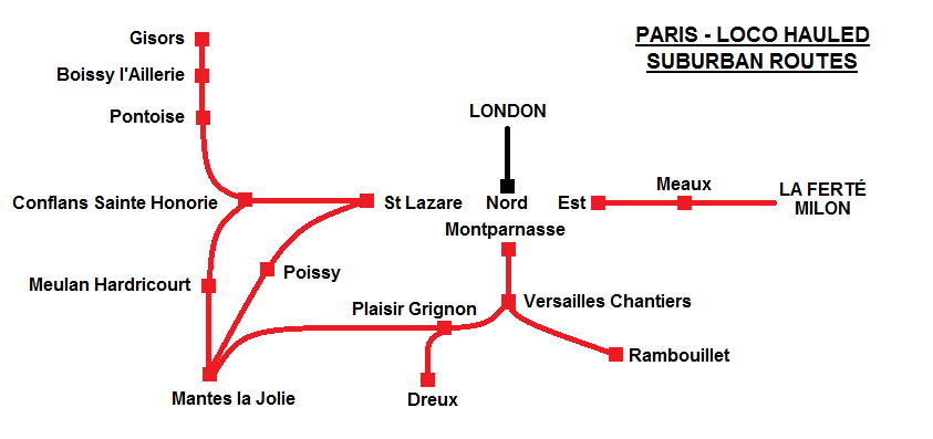 Paris hauled map